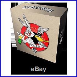 2015 $250 Canada Looney Tunes Ensemble Cast 99.99% 1kg silver coin- RCM