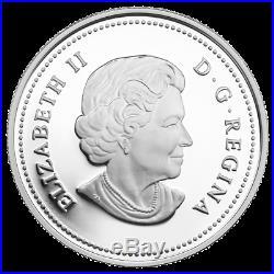 2015 Canada $20 The Wolf 1 oz. Fine Silver Colored Coin (OGP/COA)