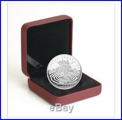 2015 Canada Maple Leaf Reflection 1oz Fine 999 Silver coin 20 Dollars Rare