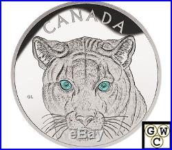 2015 Kilo'In The Eyes of the Cougar' $250 Silver Coin. 9999 Fine (NT) (16975)