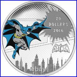 2016 $20 Fine Silver Coin DC Comics (TM) Originals The Dark Knight