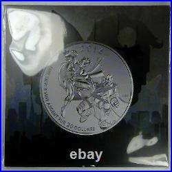 2016 Batman v Superman Dawn of Justice Silver $20.999 Silver Coin Round Canada