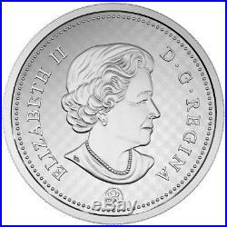 2016 Canada 10 cent Big Coin 5 oz. Fine Silver
