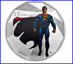 2016 Canada 1/2 oz Silver $10 Batman v Superman Dawn of Justice ALL 4 coins