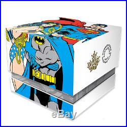 2016 Superman Canada 20$ 1 Oz. Fine Silver Coin Trinity Wonder Woman Batman
