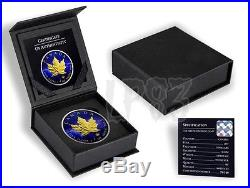 2017 1 OZ SILVER MAPLE LEAF'UNIVERSE COIN, - MINTAGE 100 PCS WITH 24K Gold