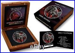 2017 $5 Canada APOCALYPSE GRIM REAPER II 1 Oz Silver Coin