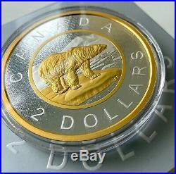 2017 Big Coin $2 Toonie Coin Canada 5oz. 9999 Fine Silver SALE