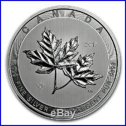 2017 Canada 10 oz Silver $50 Magnificent Maple Leaves BU SKU #117815