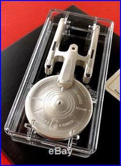 2017 Canada 10oz Star Trek Silver Coin $100 U. S. S. Enterprise NCC 1701 Ship