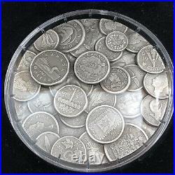 2017 Canada 1 KILO $250 Coin Collection. 999 Fine Silver Coin with BOX & COA RARE
