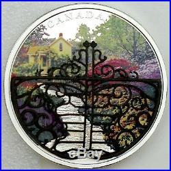 2017 Canada $30 Dollars 9999 silver coin Gate to Enchanted Garden Proof