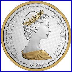 2017 Canada Big Coin Series Colville Rabbit 5 oz. Silver Gilt Proof 5c SKU46967