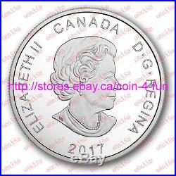 2017 Canada Glistening North The Polar Bear $20 1 oz Pure Silver Coin
