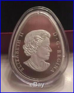 2017 Canada Traditional Ukrainian Pysanka (Easter Egg) $20 PURE Silver Coin