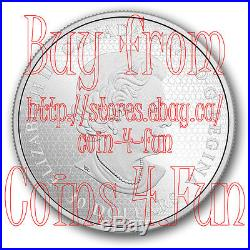 2017 Celebrating Canada 150 Parliament Hill 2oz $30 Glow-In-The-Dark Silver Coin