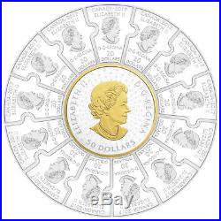 2017 Fine Silver Puzzle Coin Canada 150