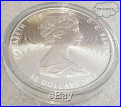 2017 The Great Canadian Niagara Falls 10 Oz. 9999 Fine Silver $50 Bullion Coin