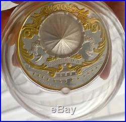2018 CANADA $50 ANTIQUE CAROUSEL 6oz Pure Silver Gold-Plated Coin IN HAND NO TAX