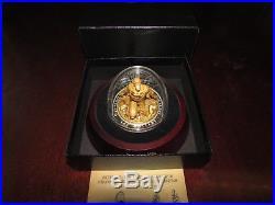 2018 Canada $100 Superman The Last Son Of Krypton Fine Silver Sculpture Coin