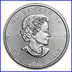 2018 Canada 1 oz Silver Maple Leaf (25-Coin MintDirect Tube) SKU#152678