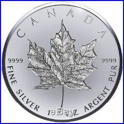 2018 Canada 1 oz. Silver Maple Leaf Incuse Reverse Proof $20 Coin OGP SKU52794
