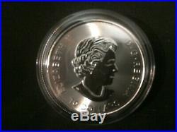 2018 Canada 2oz $10 Maple Leaf twin Leafs Silver Bullion Coin