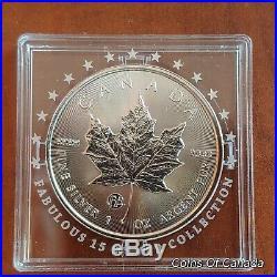 2018 Canada $5 Fabulous 15 F15 Privy Mark Silver Maple Leaf Coin #coinsofcanada