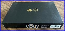 2018 Canada Pure Silver Coloured 6 Coin Proof Circulation Set With Medallion