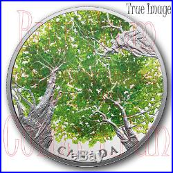 2018 Canadian Canopy The Maple Leaf 2 OZ $30 Pure Silver Coin