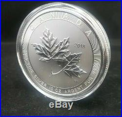 2018 Canadian Maple Leaf 10 oz. 9999 Silver $50 Coin BU from Monster Box. NEW $$
