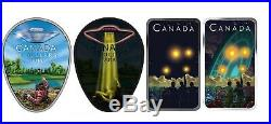 2018 Falcon Lake 2019 Shag Harbour UFO Incident $20 Pure Silver Coins
