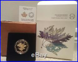 2018 Iconic Maple Leaves Master $20 Scallop-edged Pure Silver Proof Coin Canada