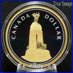 2018 Masters Club #4 National War Memorial $1 2OZ Pure Silver Dollar Coin Canada