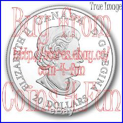 2018 Norse Figureheads #1 Northern Fury 1 oz $20 Pure Silver Coin Canada