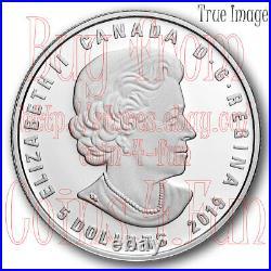 2019 Aries Zodiac Series #4 $5 Pure Silver Coin with Swarovski Crystal Canada