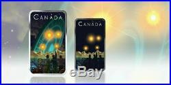 2019 CANADA $20 UFO SHAG HARBOUR Glow-in-the-Dark 1oz Proof Silver Coin PRE-SALE