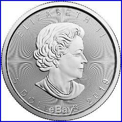 2019 Canada Silver Maple Leaf 1oz BU Coin 5pc