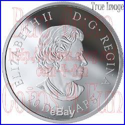 2019 Canadian Fauna #2 The Fox $20 1 OZ Pure Silver Coloured Coin Canada