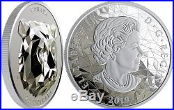 2019 Grizzly Bear Multifaceted Animal HighRelief Head $25 1OZ Silver Coin Canada