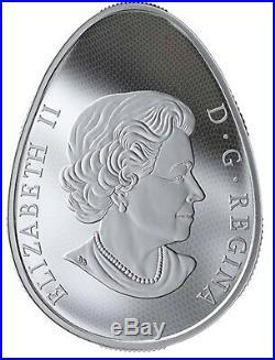 2019 Hatching Hadrosaur $20 Silver Glow yb rge dark Egg Canada Coin