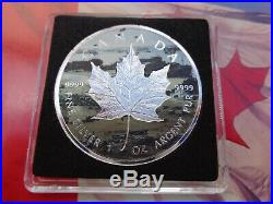 2019 NORMANDY Canadian Incuse Maple Leaf D-Day series TWO coin set