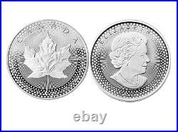 2019 Pride of Two Nations Silver 2pc. U. S. & CANADA COIN Set Box OGP & COA