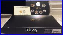 2019 Pure Silver Colourised Coin Set Classic Canadian Proof 7Pieces RCM