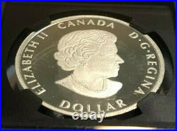 2020 1oz Canada $1 Silver Peace Dollar, UHR, First Day Issue, NGC, PF70 U Cameo