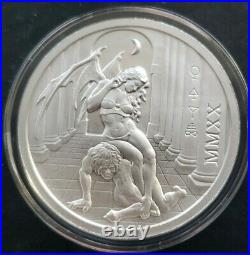 2020 2 Oz. 999 Pure Silver Temptation Of The Succubus Round Coin Girl Wastweet