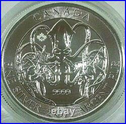2020 2 oz Royal Canadian Creatures of the North Series The Kraken Silver Coin BU