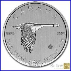 2020 2oz Canadian Goose Silver Coin