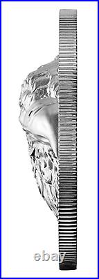 2020 CANADA $25 Proud Bald Eagle EHR Extra High Relief Proof Pure Silver Coin