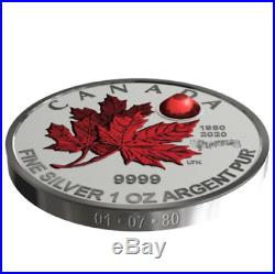 2020 CANADA $5 Silver Maple Leaf 40th anniv National Anthemcoin only presale